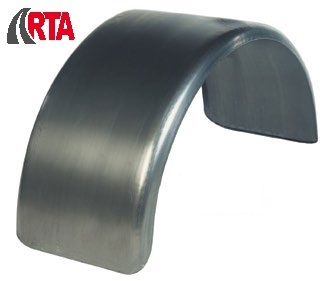 Mud guard 530x510x1600 Steel Zinc-tec