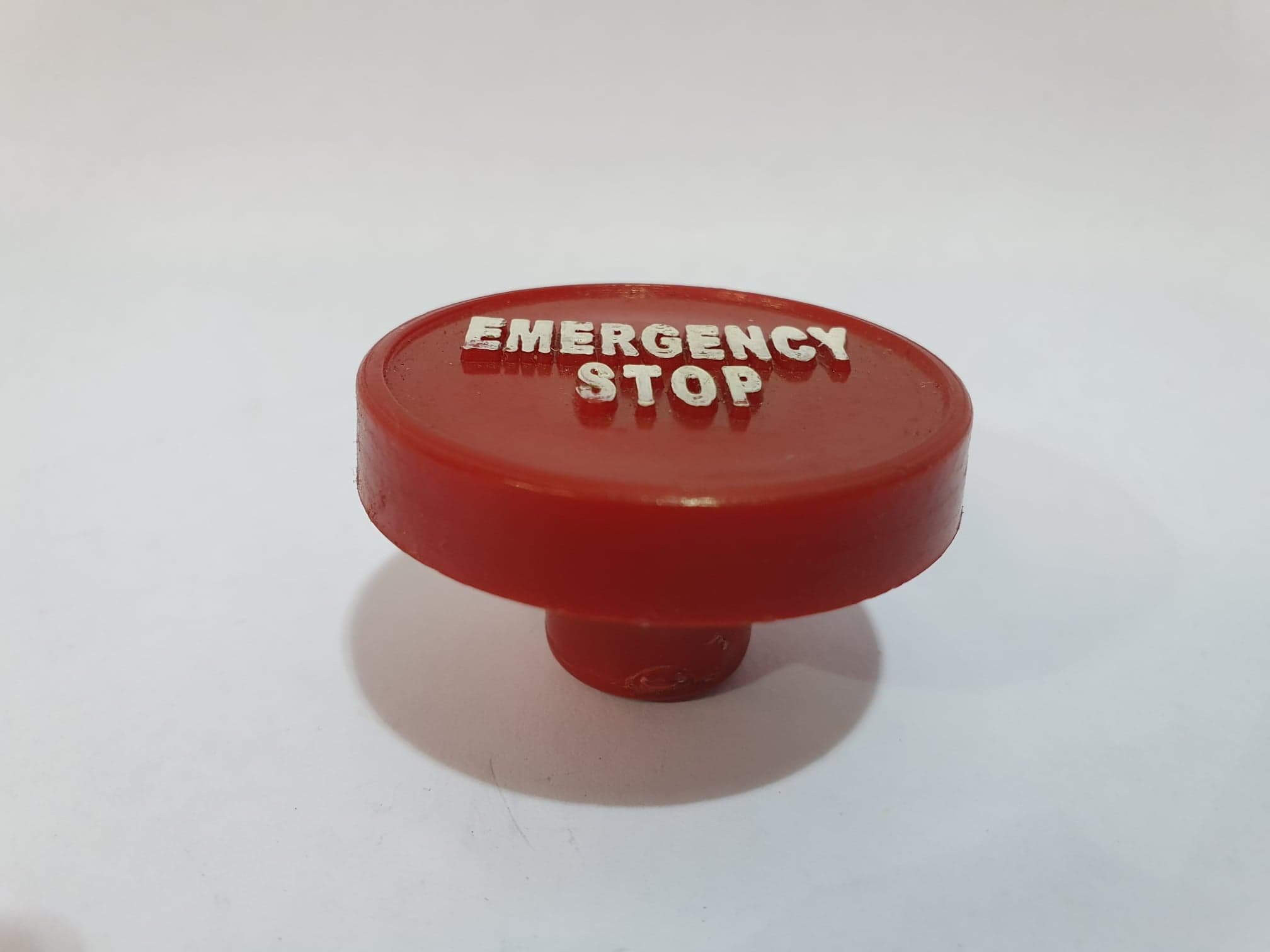 Red Emergency Stop Knob